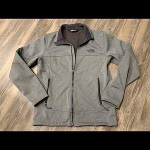 North Face fleece lined zip up jacket